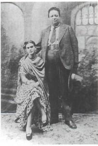 Hochzeit Frida Kahlo und Diego Rivera