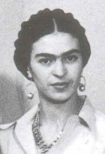 Frida Kahlo im Jahr 1932