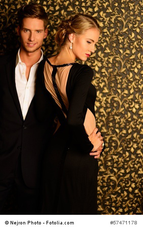 Damen- und Herren-Abendmode mit Stil und Eleganz passend zu jedem Anlass