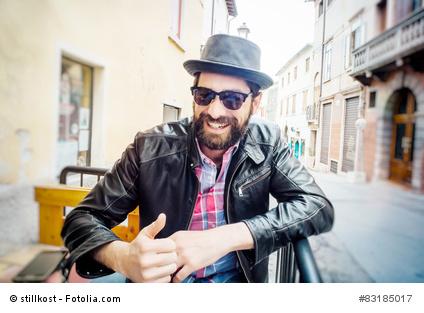 Lederjacken und Lederkleidung im Trend