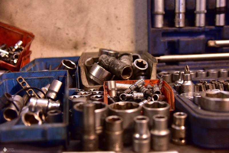 Werkzeugkoffer Schrauben