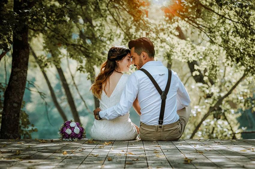 Hochzeit-Verlobung